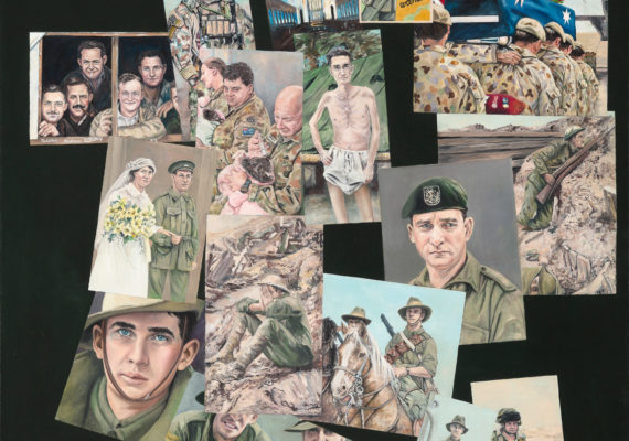 KRISTIN HARDIMAN: Postcards of War